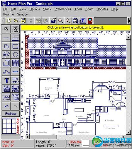 室内装修图纸设计|home